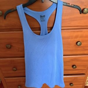 Blue Workout Tank Nike